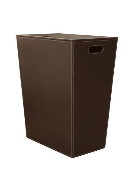 Badezimmer Wäschekorb Höhe 48 cm in verschiedenen Oberflächen erhältlich