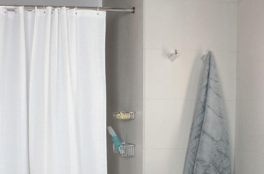 nido duschvorhang 180 cm x 200 cm und 240 cm x 200 cm stoff 100 polyester. Black Bedroom Furniture Sets. Home Design Ideas