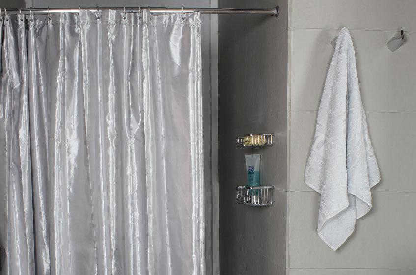 midas silver duschvorhang 180 cm x 200 cm und 240 cm x 200 cm stoff 100 polyester. Black Bedroom Furniture Sets. Home Design Ideas