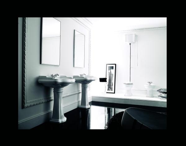 retro bad waschtisch 73 cm mit oder ohne stands ule erh ltlich. Black Bedroom Furniture Sets. Home Design Ideas