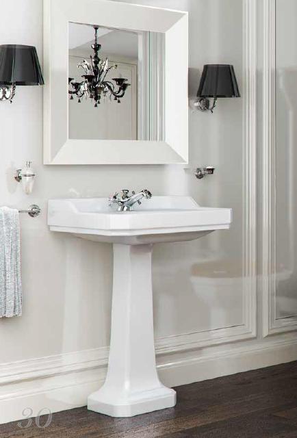 romana nostalgie waschtisch 66 cm mit oder ohne stands ule. Black Bedroom Furniture Sets. Home Design Ideas