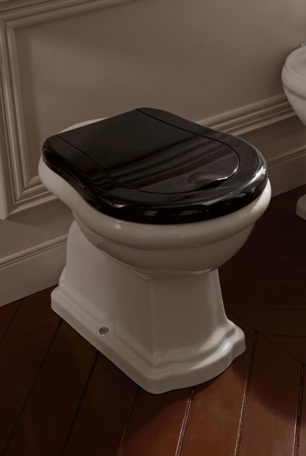 Retro nostalgie toilette bodenstehend - Toilette retro ...