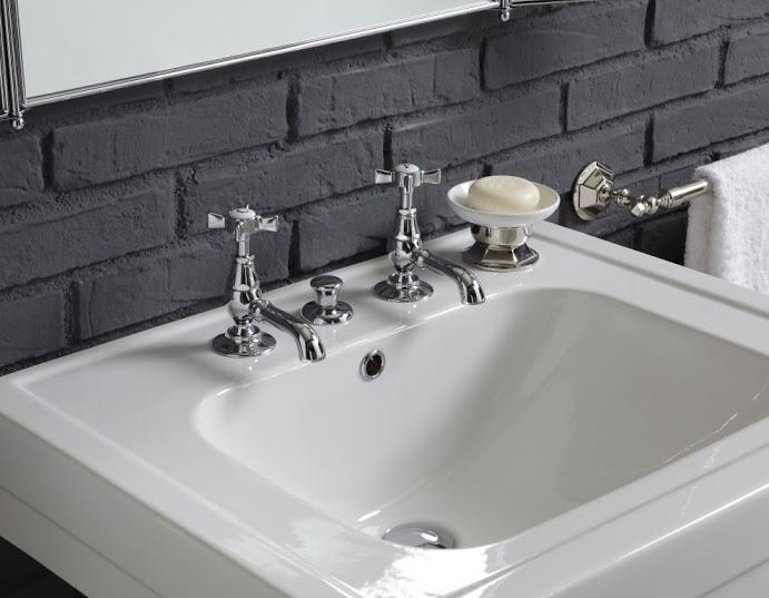 provence landhaus waschtisch 65 cm mit metall untergestell. Black Bedroom Furniture Sets. Home Design Ideas
