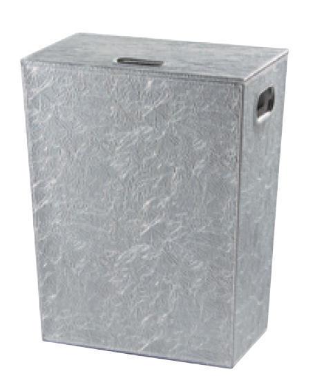 Badezimmer Wäschekorb Chrom Höhe 60 Cm
