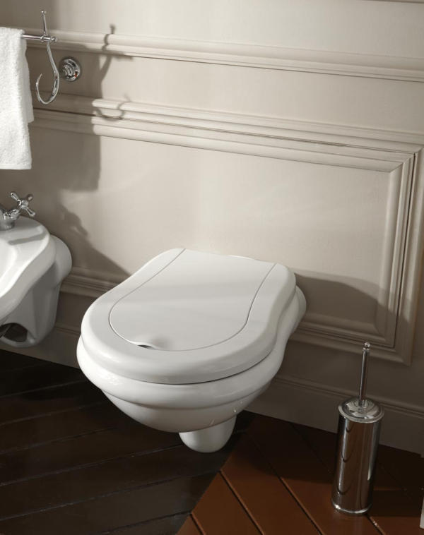 Retro toilette wandh ngend - Toilette retro ...