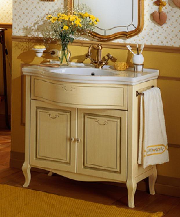old line waschtisch 90 cm mit unterbau dekor. Black Bedroom Furniture Sets. Home Design Ideas