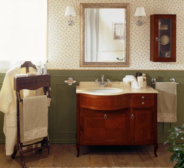 old line nostalgie waschtisch 106 cm mit unterschrank und. Black Bedroom Furniture Sets. Home Design Ideas