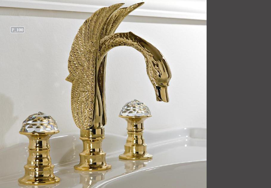 antik 3 loch waschtischarmatur mit schwan auslauf. Black Bedroom Furniture Sets. Home Design Ideas