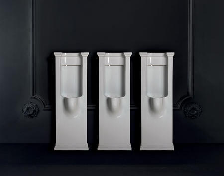 Waldorf Retro Bad Urinal bodenstehend