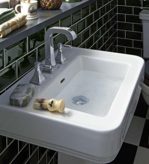 wynwood landhaus waschbecken 60 cm. Black Bedroom Furniture Sets. Home Design Ideas