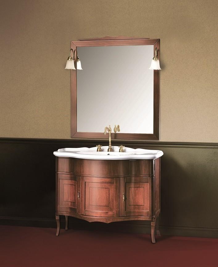 rodi nostalgie waschbecken mit holz unterschrank 110 cm. Black Bedroom Furniture Sets. Home Design Ideas