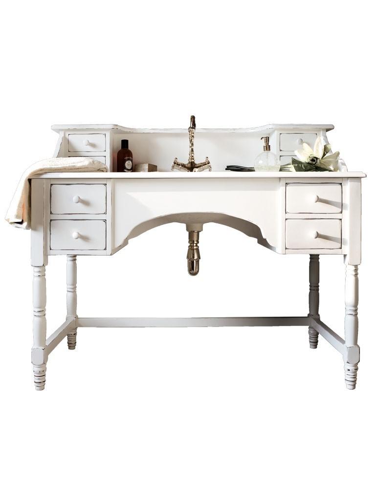 rene landhaus waschtisch mit marmorplatte und holz unterschrank 126 cm. Black Bedroom Furniture Sets. Home Design Ideas