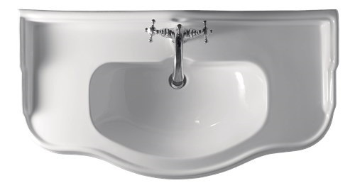 Retro Bad Waschtisch 100 cm